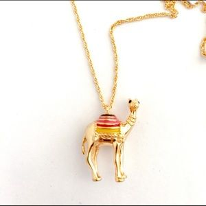 🍃Kate Spade Spice Things Up Camel Necklace -NWT🍃